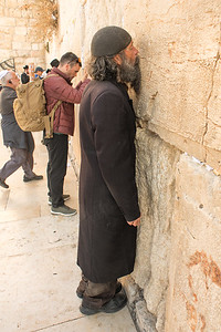 The Western Wall at Temple Mount. Jerusalem. Nov 2018. Photo by Weldon Weaver.