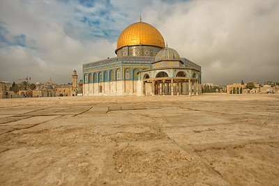 The Dome of the Rock at Temple Mount. Jerusalem. Nov 2018. Photo by Weldon Weaver.