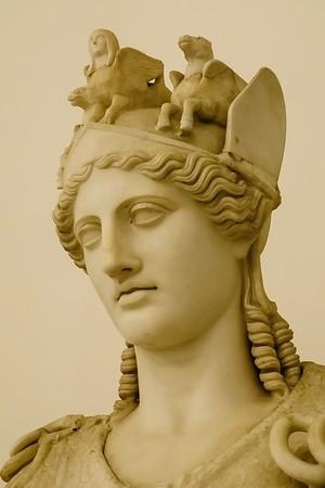 The Farnese Athena (detail)