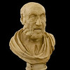 Hippocrates<br /> <br /> 1st century AD copy of a Greek original of the mid-2nd century BC<br /> <br /> Archaeological Museum of Naples