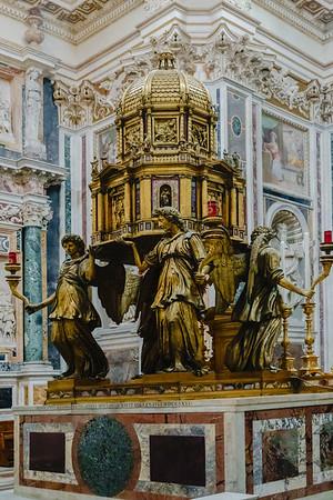 From the Church of Santa Maggiore.