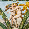 La Loggia of Cupid and Psyche (1518)<br /> <br /> By the group of Raphael with festooning by Giovanni da Udine<br /> <br /> Farnesina, Trastevere