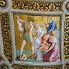 Ceiling fresco<br /> <br /> Raphael rooms, Vatican Museums<br /> <br /> Rome, Italy
