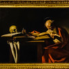 Saint Jerome (1605) by Caravaggio (1571-1610)
