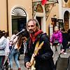 Street musician in the Piazza della Rotonda