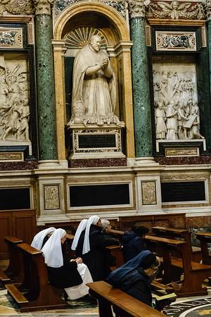 A chapel in the Santa Maria Maggiore