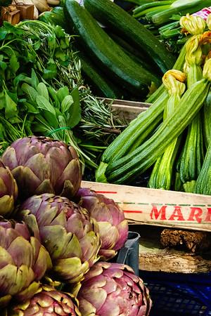 Trastevere street market<br /> <br /> Trastevere, Rome, Italy