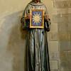St. Bernardino da Siena<br /> <br /> Carved painted wood<br /> <br /> Lorenzo Di Pietro <br /> <br /> Uffizi Gallery<br /> <br /> Florence, Italy
