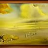 Salvado Dalì<br /> Soft Monster in Angelic Landscape, 1977<br /> <br /> 1980 gift of King Juan Carlos of Spain