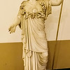 Statue of Athena (The Farnese Athena)<br /> <br /> 1st century AD<br /> <br /> A Roman replica of a Greek prototype from the school of Phidias (5th century BC)<br /> <br /> Archaeological Museum of Naples
