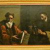 This painting of Plato and Diogenes by Mattia Preti was made around 1690.  It hangs in the Pinacoteca of the Capitoline Museums.