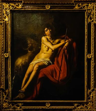 St. John the Baptist by Caravaggio