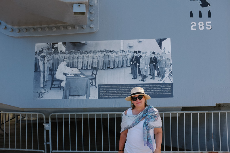 USS Missouri, Pearl Harbour. Location where Japan surrended at the end of WW2.