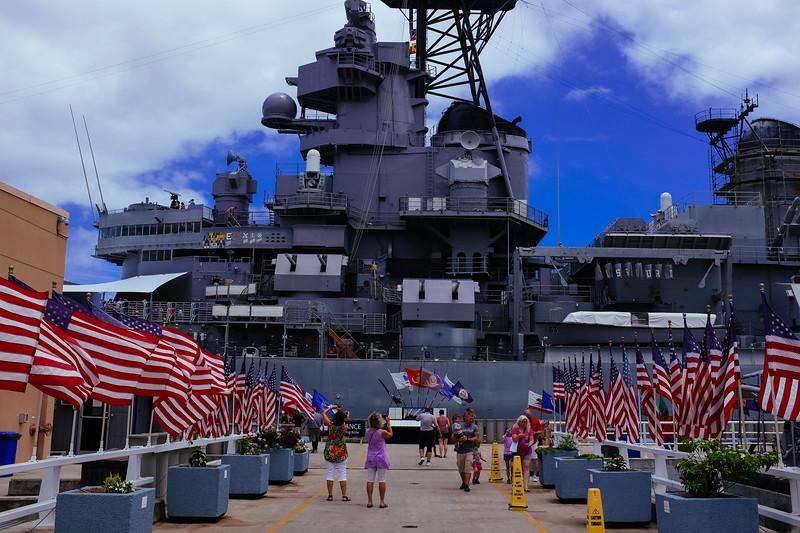 USS Missouri, Pearl Harbour