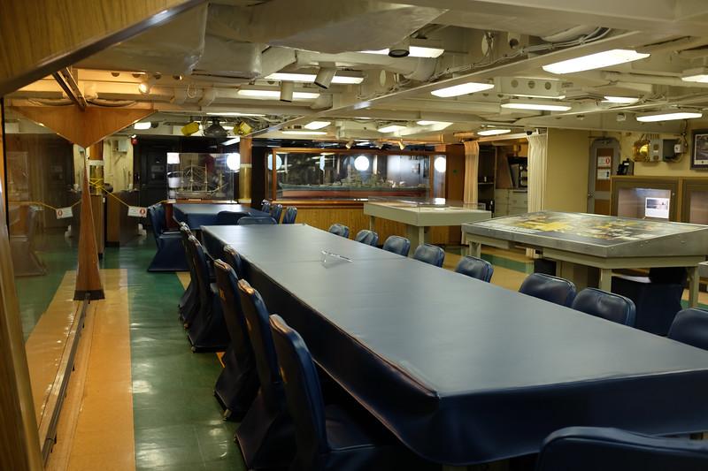USS Missouri, Officer's Mess.