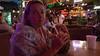Coconut Bar, Honolulu. Pina colado in a pineapple .....