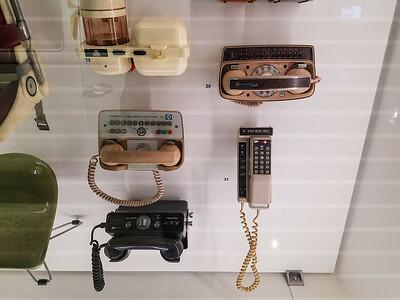Ancient car phones.