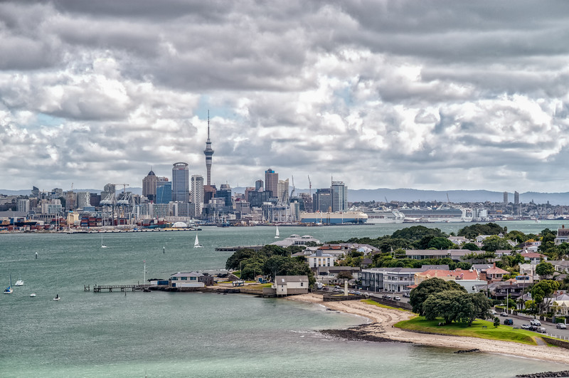 2018-03-13 Auckland harbor