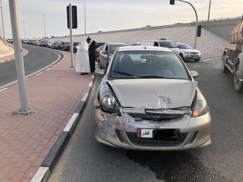 Honda nehoda