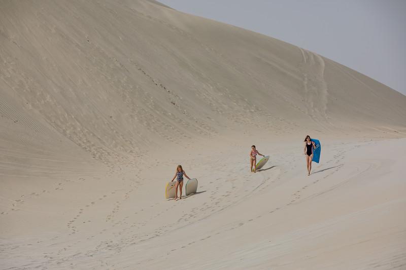 Tímea Jarošová Katar duny