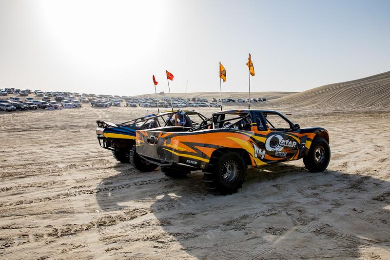 Katar buggy poušť