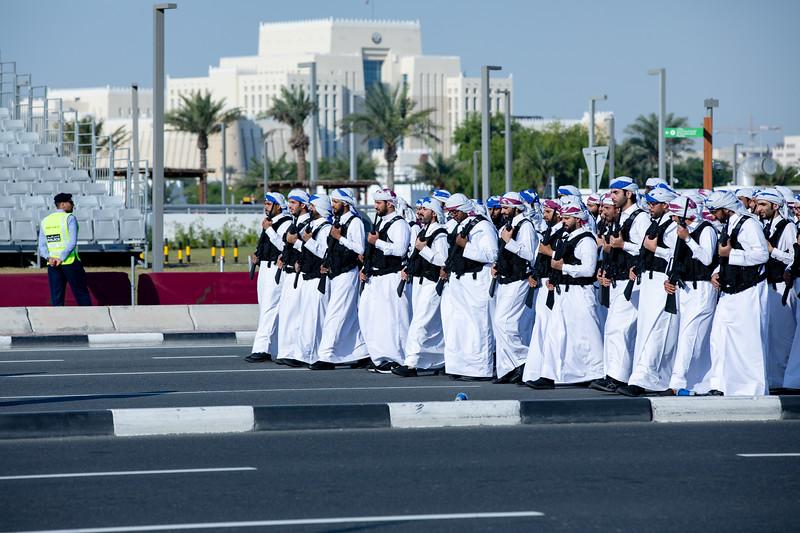 Katar vojenská přehlídka