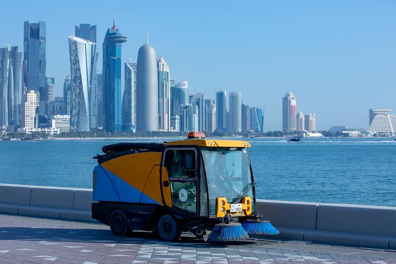Katar panorama Doha