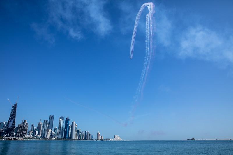 letadla Katar vojenská přehlídka