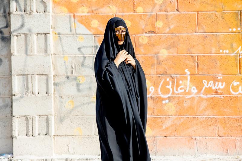 Katar batúla abája arabská žena