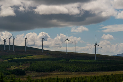Wind farm, Isle of Skye.