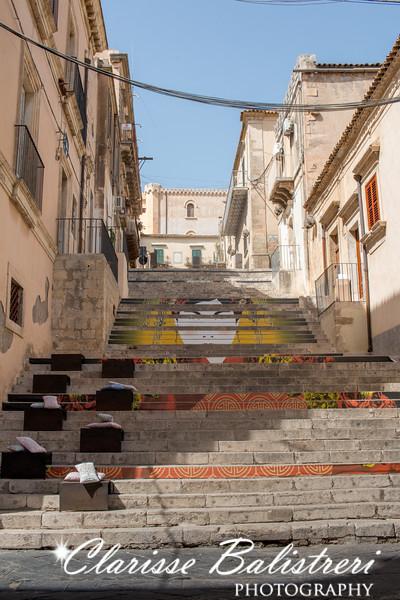 Steps at Noto, Sicily