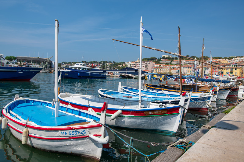 The fishing port of Cassis in France.