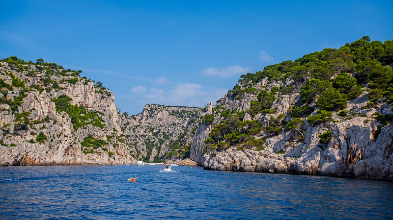 The Calanques of Cassis near Marseille, France.