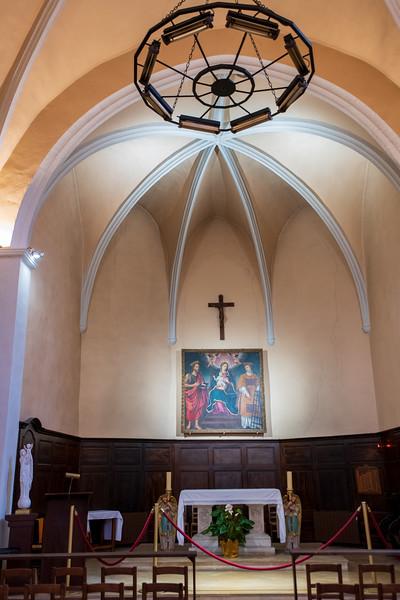 The parish church, Notre Dame de l'Assomption, in Gassin, France.