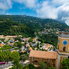 The hilltop village of Éze in southeastern France.