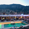 The view of Monaco as our ship departed in the evening.