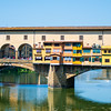 "The Ponte Vecchio (""Old Bridge"") in Florence, Italy."