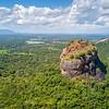 Trincomalee, Sri Lanka:  Sigiriya Fortress as seen from Pablo's drone