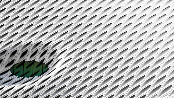 The Broad Art Gallery.