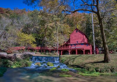 Hogson Mill in Fall