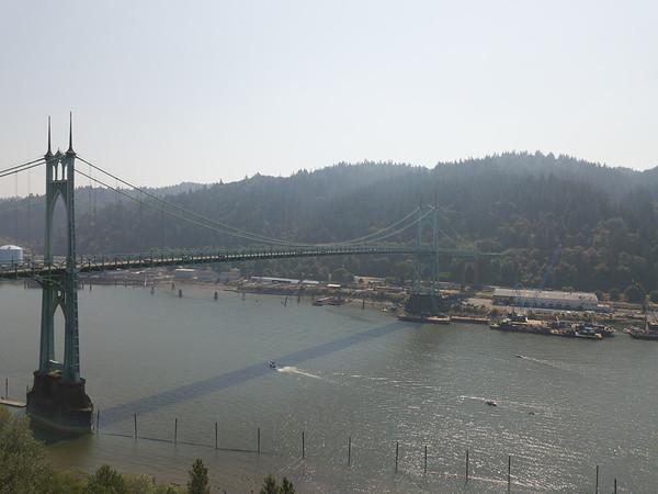 2018 Oregon St. John's Bridge