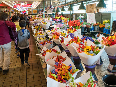 Flowers, Pike Place Market