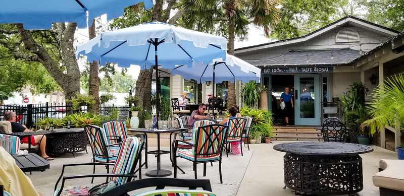 First stop Fernandina Beach, FL for lunch at the Patio
