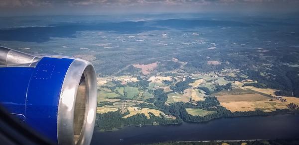 Landing in Oslo