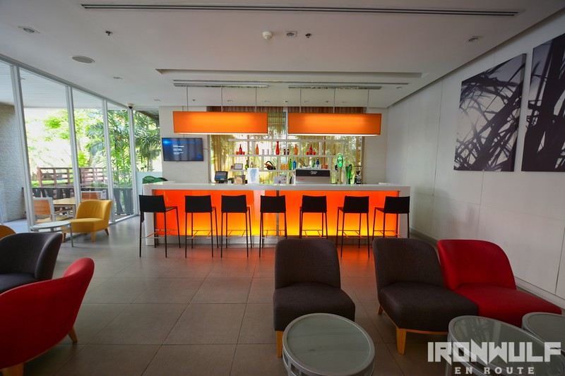 Bar area at IBIS Pattaya