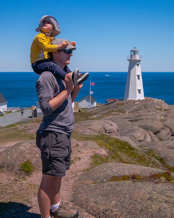 Taller than a lighthouse at Cape Spear, the easterly most point of North America.