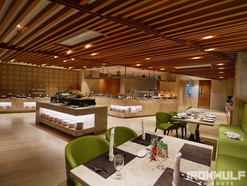 Lamisaan buffet area