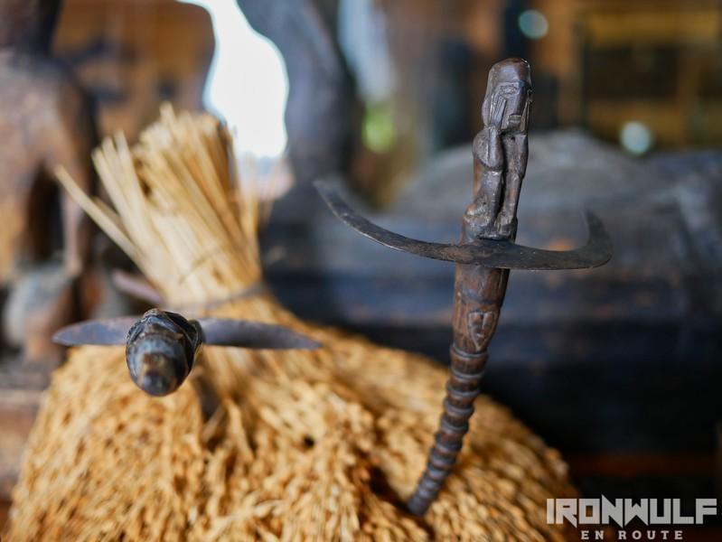 Rice harvest knives