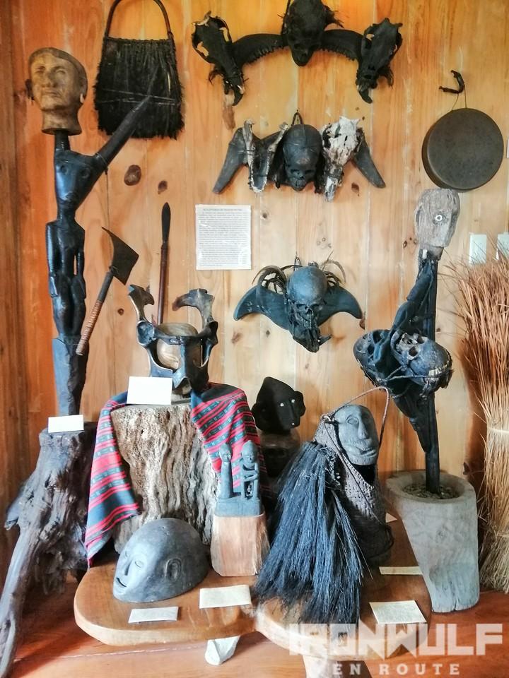 Head hunters wall