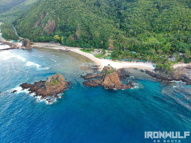 Diguisit beach and islets